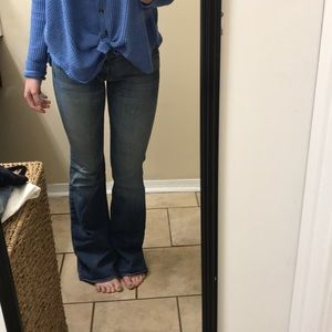 Seven For All Mankind flared jeans size 26